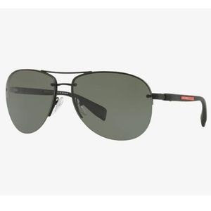 Prada Aviator Style Green Polarized Lens